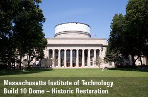 Massachusetts Institute of Technology - Build 10 Dome - Historic Restoration